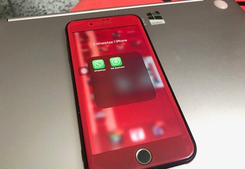 2 akun whatsapp di android dan iphone