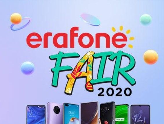 Erajaya Group kembali menggelar Erafone Fair Online 2020