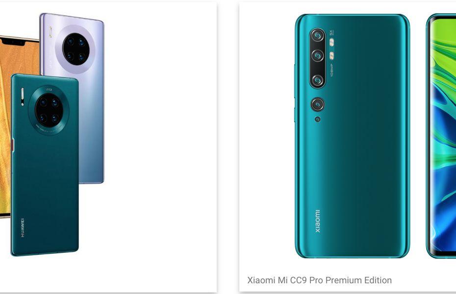 Daftar ponsel dengan kamera terbaik 2019 menurut DxOMark