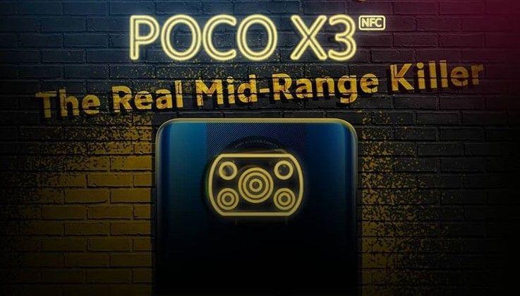 POCO X3 NFC siap melantai di Indonesia pada 15 Oktober 2020