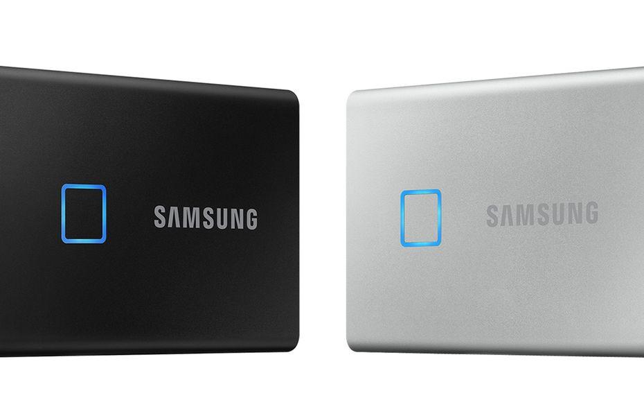 Samsung SSD T7 Touch dengan sidik jari diklaim lebih aman