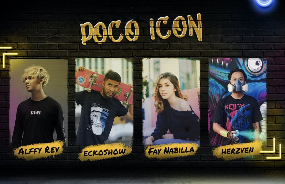 Empat Seniman Berbakat jadi Wajah POCO X3 NFC