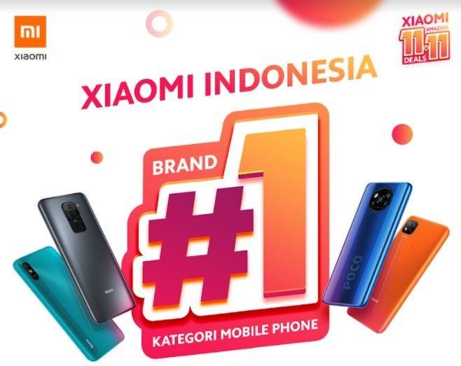 Smartphone Xiaomi Jadi Jawara di 11.11