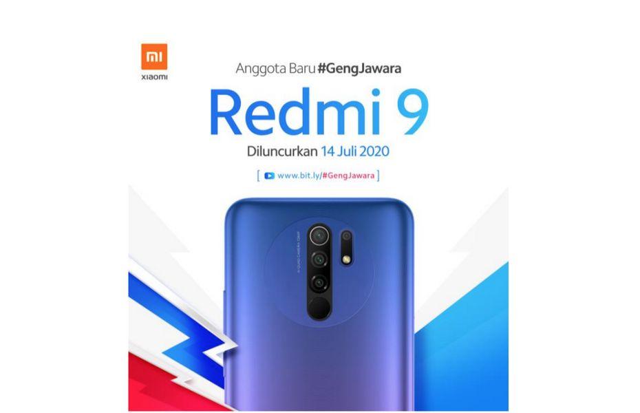 Siap-siap! Xiaomi segera Luncurkan Redmi 9 di Indonesia pekan depan