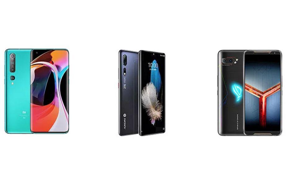 Perbandingan Xiaomi Mi 10, ROG Phone 2, dan ZTE Axon 10s Pro 5G, mana yang terbaik dan terjangkau