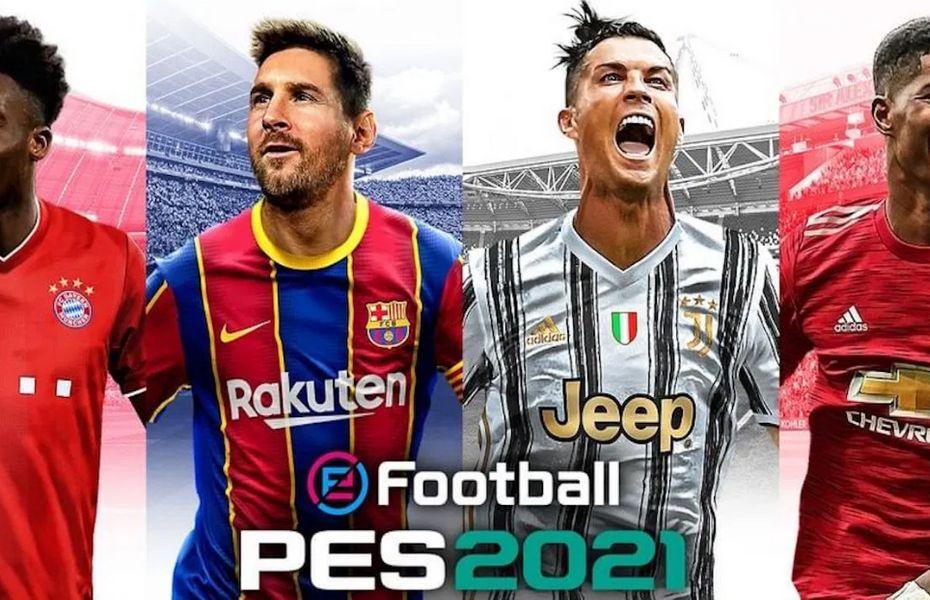 Messi dan Ronaldo Ada di Cover Konami PES 2021
