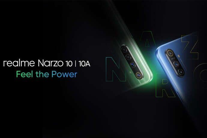 Realme Narzo 10 dan Narzo 10A resmi diluncurkan di India