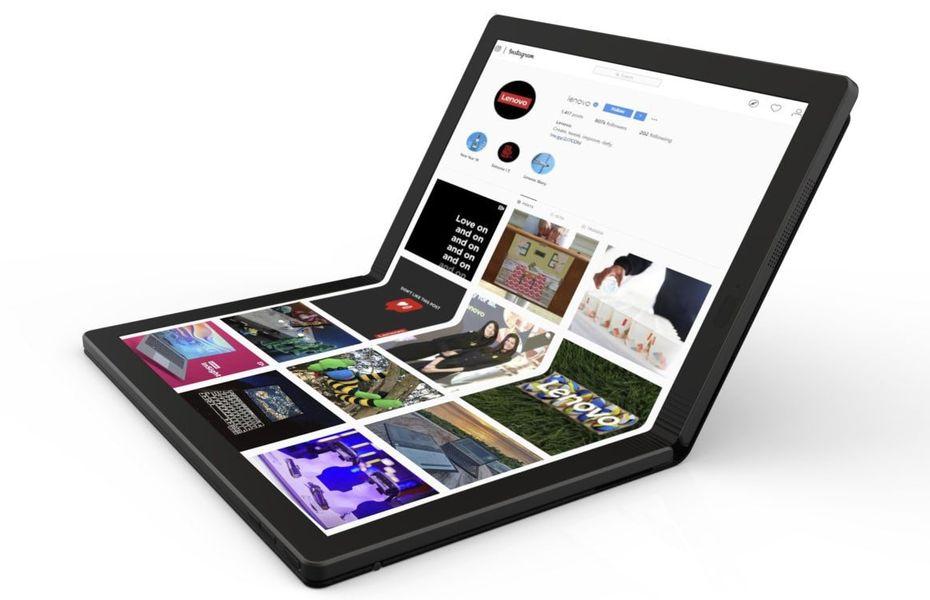 Lenovo tengah siapkan PC lipat pertama di dunia