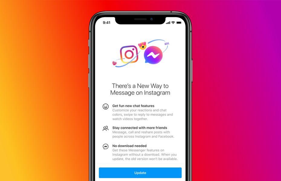 Facebook luncurkan perpesanan lintas platform di Instagram dan Messenger