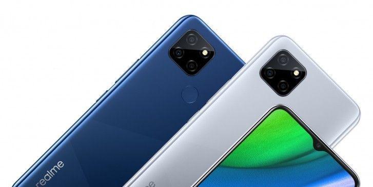 Realme V3 5G dengan Dimensity 720 juga ikut diluncurkan