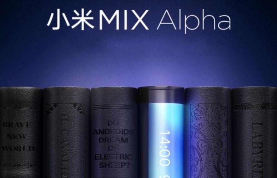 Mi Mix Alpha atau Mi Mix 4 siap hadir besok 24 September