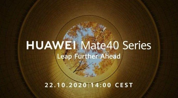 Seri Huawei Mate 40 siap meluncur pada 22 Oktober 2020