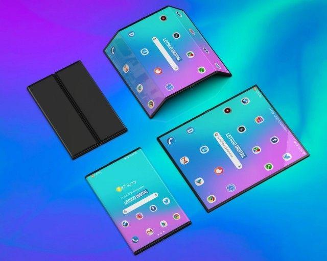 Ikuti Samsung dan Huawei, Xiaomi juga patenkan smartphone layar lipat