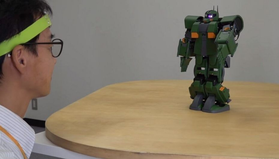 Gokil, Jepang Bikin Model Gundam yang Bisa Dikendalikan Menggunakan Pikiran!