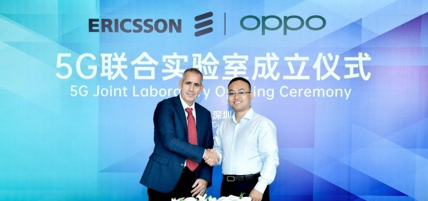 Oppo dan Ericsson bangun laboratorium bersama 5G