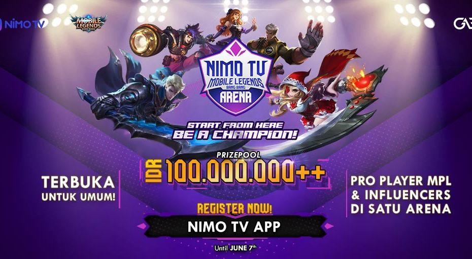 Nimo TV Menggelar NMA, Berhadiah Lebih Dari 100 Juta Rupiah