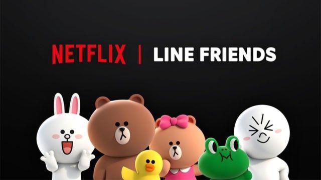 Gandeng Line Friends, Netflix produksi serial animasi 3D Brown & Friends
