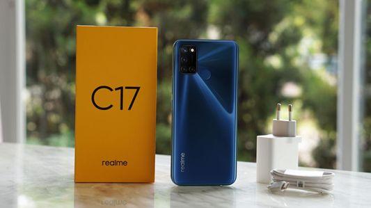 Mengintip paket penjualan Realme C17, Apa saja isinya?