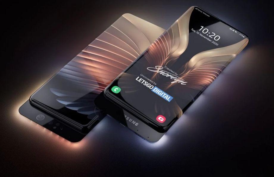 Samsung Patenkan Teknologi Baru, Layar Penuh Tanpa Bezel