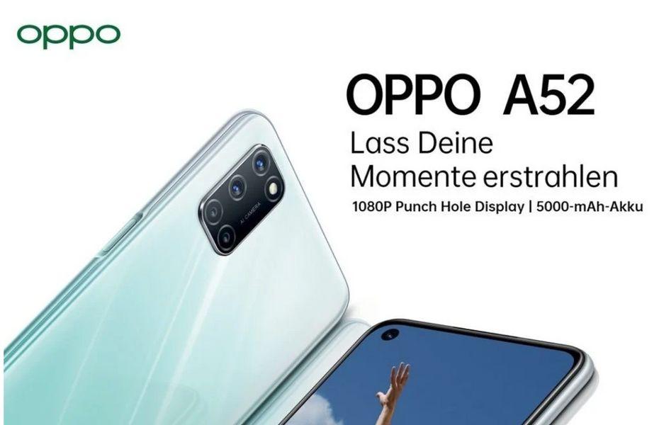 Oppo luncurkan A52 dan A72 dengan dukungan 4G di Jerman