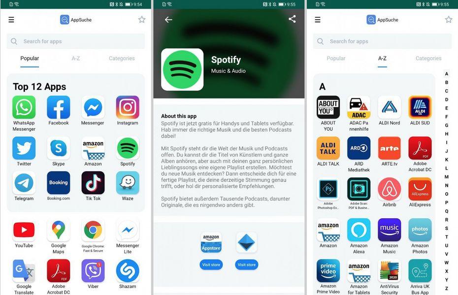 Huawei tengah menguji AppSearch guna membantu pengguna mengunduh aplikasi populer tanpa Google Play Store