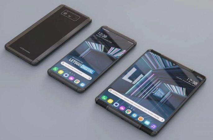 Smartphone layar gulung LG bakal mengusung nama LG Rollable