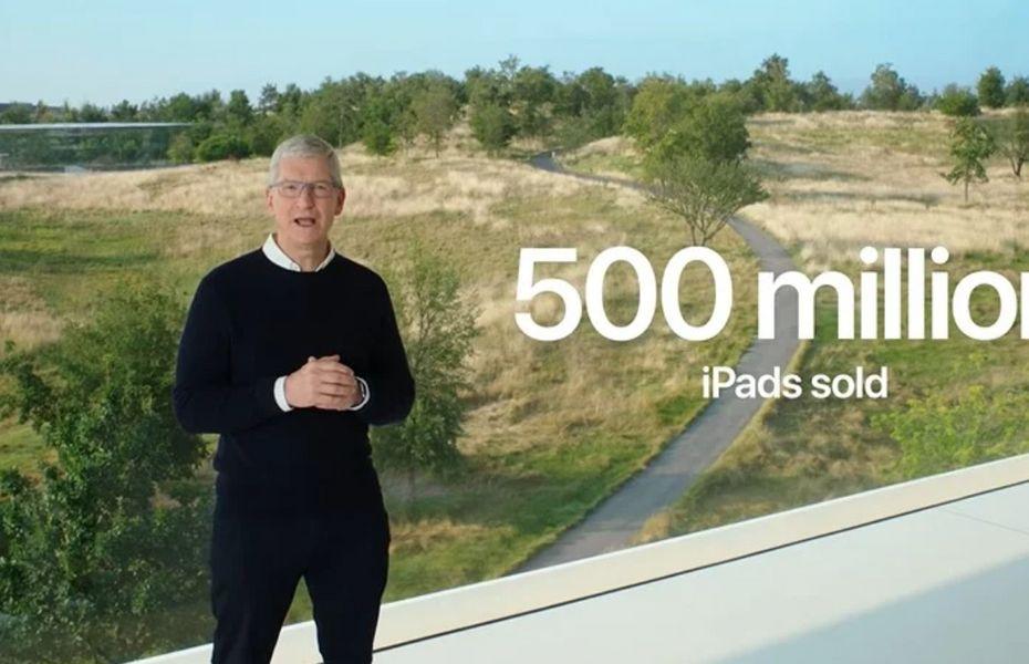 500 Juta iPad berhasil terjual hingga tahun 2020