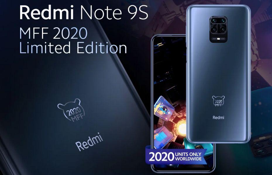 Xiaomi mengumumkan Redmi Note 9S MFF 2020 Edisi Terbatas