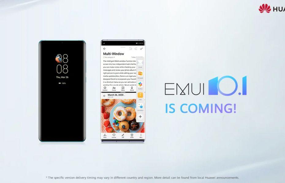 Daftar 20 smartphone yang menerima pembaruan global EMUI 10.1 / MagicUI 3.1