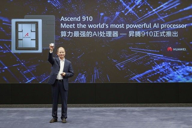 Huawei Luncurkan Prosesor AI Ascend 910 dan MindSpore