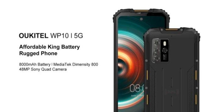 Oukitel luncurkan smartphone 5G dengan baterai jumbo 8.000 mAh