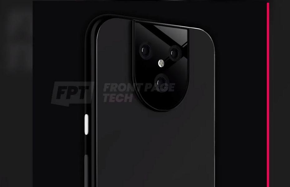 Render Pixel 5 muncul untuk pertama kalinya dengan tiga kamera belakang