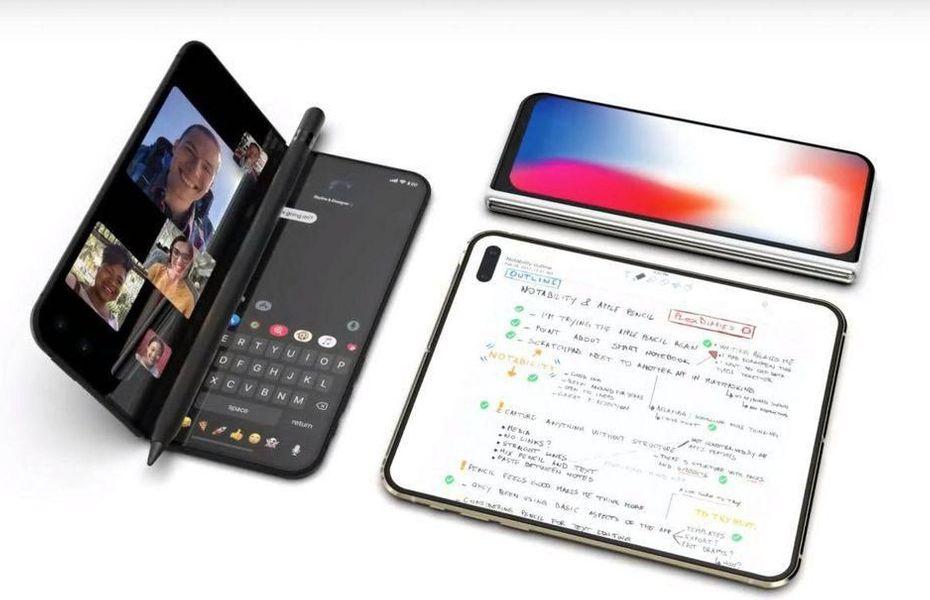 Apple diam-diam sedang garap ponsel lipat