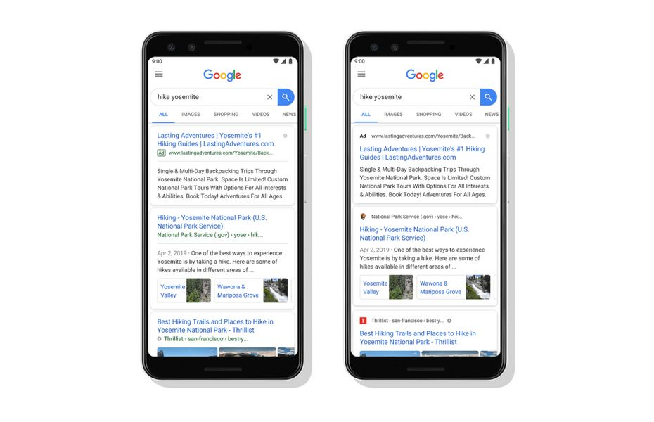 Google Search segera punya tampilan baru