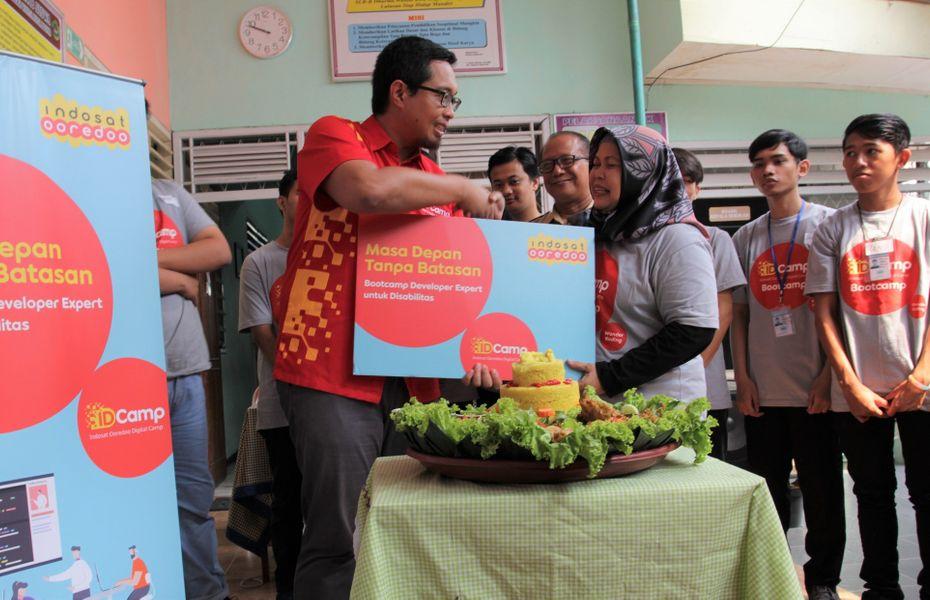 Indosat Ooredoo berikan pelatihan istimewa bagi peserta berkebutuhan khusus
