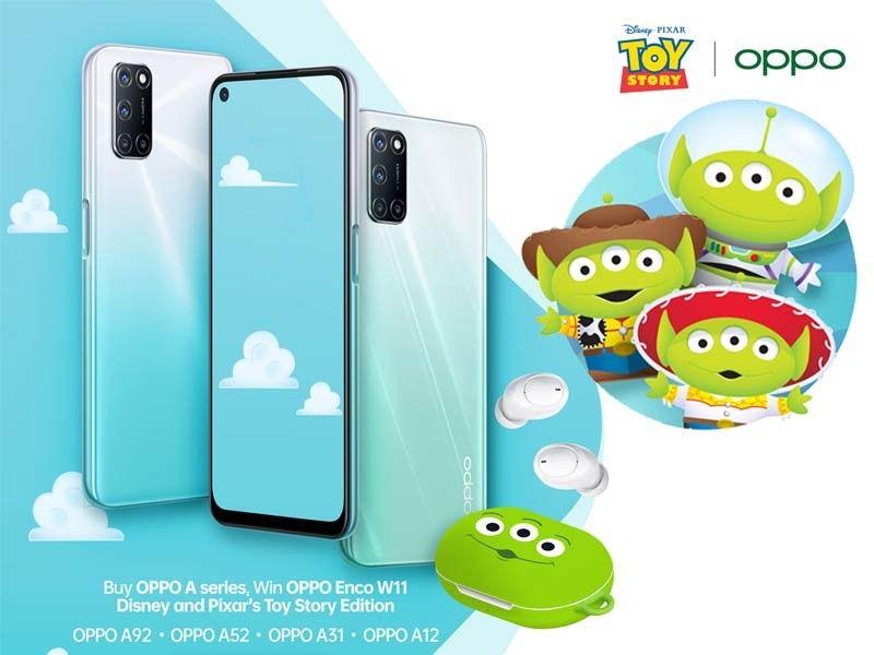 Kolaborasi dengan Disney dan Pixar, Oppo Indonesia hadirkan Enco W11 versi Toy Story