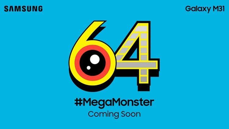 Samsung Galaxy M31 bakal punya kamera 64MP dan baterai 6.000 mAh