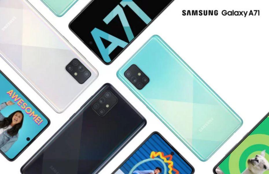 Galaxy A71 juga hadir dengan spesifikasi yang lebih baik dibandingkan Galaxy A51