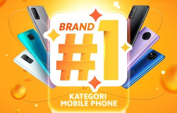 Redmi Note 9 dan Redmi 9C menjadi smartphone paling laris terjual selama belanja online 12.12
