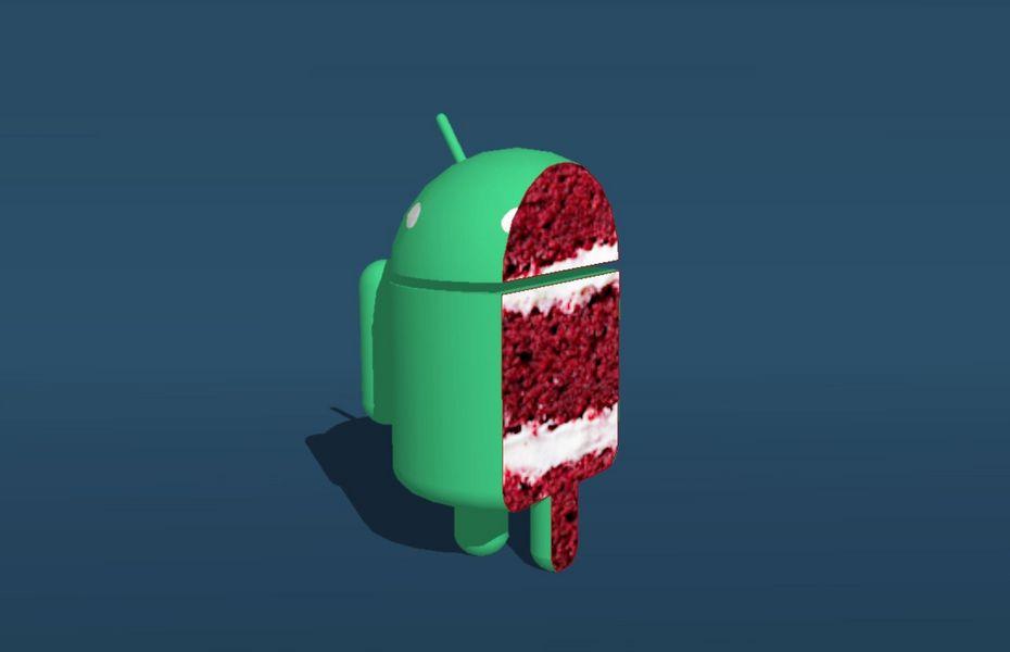 """""""Red Velvet Cake"""" adalah nama makanan penutup untuk Android 11"""