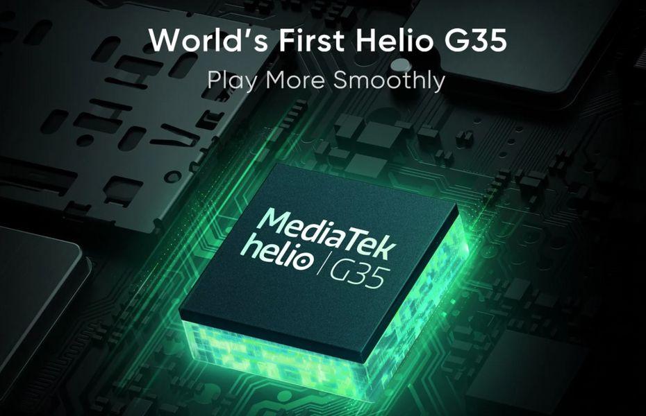 Realme C11 akan jadi smartphone pertama dengan Helio G35