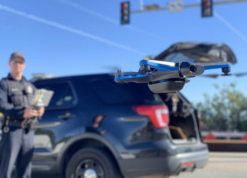 Drone Lebih Efektif dari Helikopter, Polisi Amerika Serikat Gunakan Drone untuk Meringkus Penjahat