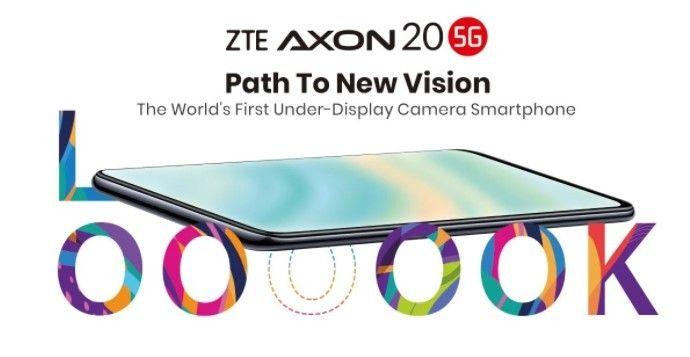 ZTE Axon 20 5G, ponsel kamera bawah layar pertama di dunia yang diluncurkan untuk pasar global