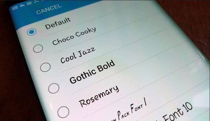 Cara Mengganti Font Android Root dan Tanpa Root