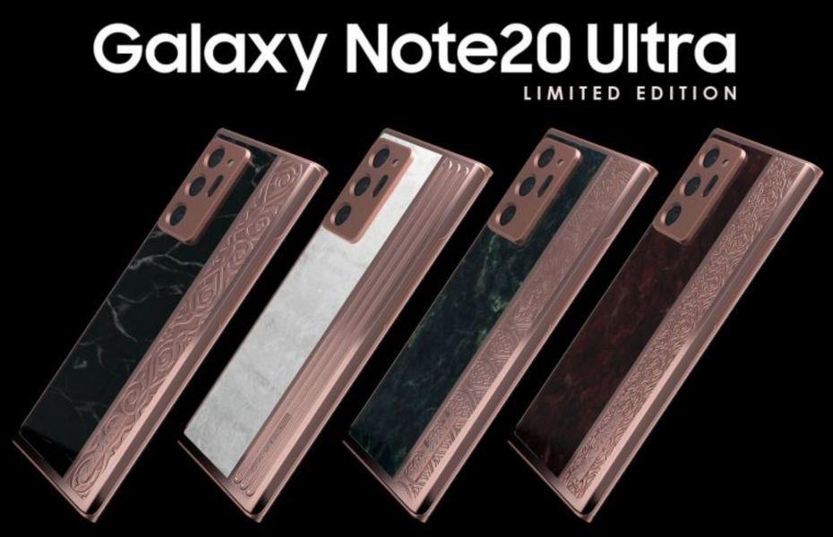 Caviar produksi empat model edisi terbatas dari Samsung Galaxy Note 20 Ultra
