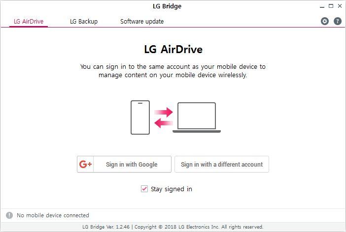 Fitur LG AirDrive akan dihentikan mulai 1 April 2020