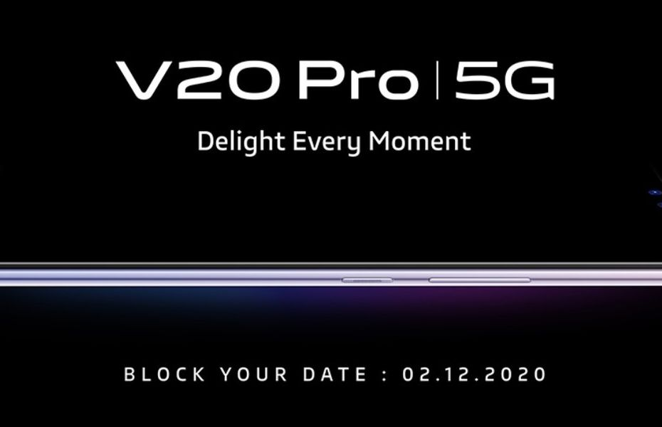 Vivo V20 Pro 5G dikonfirmasi siap meluncur awal Desember