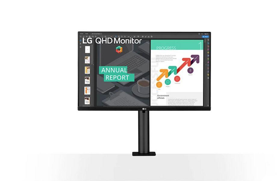 "LG meluncurkan monitor QHD IPS baru, ""Ergo"""