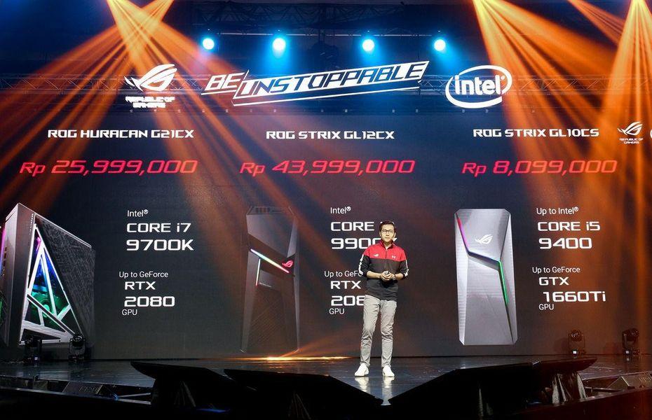 PC Gaming Terbaik dan Terbaru dari ASUS ROG: Lebih Powerful!