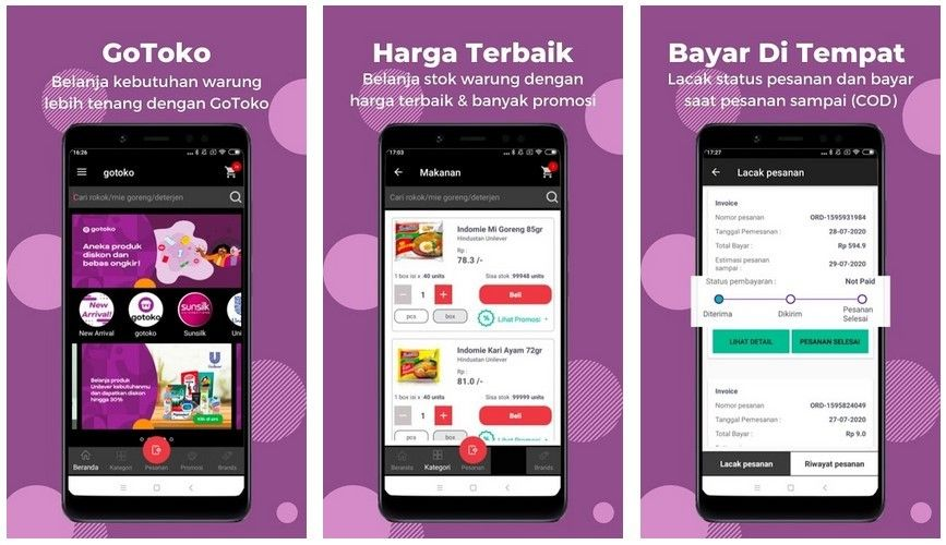 Gojek Encourages the Digitalization of Grocery Stalls through GoToko